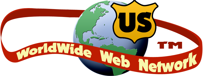 US Worldwide Web Networks globe logo, small